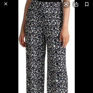 CLUB MONACO high rise wide leg trousers SZ 2